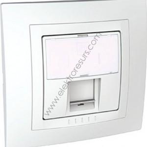 Контакт за  компютър бял MGU10.471.18D