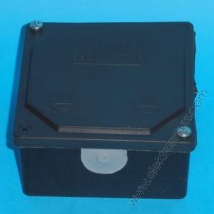 кутия ПКОМ 100/100 черна