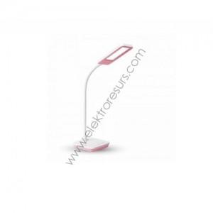 ЛЕД настолна лампа димер 7w розова