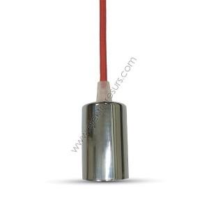 Пендел Хромиран купол Червен кабел