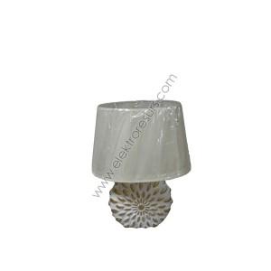 Настолна лампа У653 Бяла