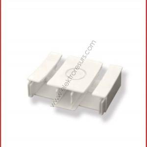 тапа за корниз PVC двойна
