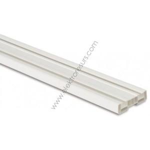 корниз PVC двоен 2.5м
