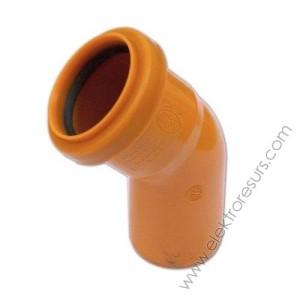 PVC дъга Ф32/45°