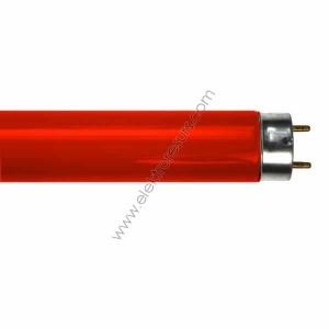 Луминисцентна тръба T8 18W Червена