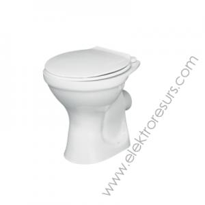 Тоалетна чиния хоризонтално отичане TENAX j459501