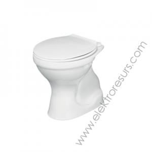 Тоалетна чиния вертикално отичане TENAX j329801