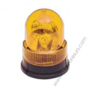 лампа мигаща 220V жълта
