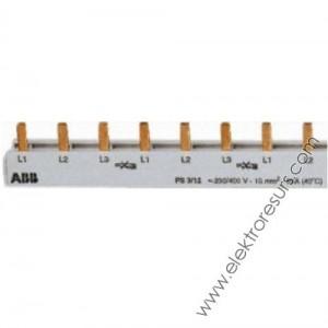 захранващ гребен монофазен 63А 1 метър