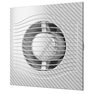 ЕРА 4C Ф100 + Клапа Бял карбон