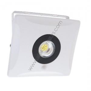 ЛЕД прожектор 10w Yukon 6000k със сензор