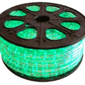LED  маркуч Зелен