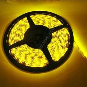 LED Лента 3528 IP20 Жълта 3.6W