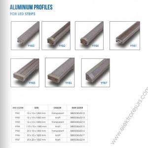 LED алуминиев корпус - 9982