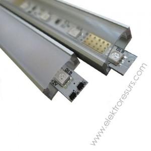 LED  алуминиев корпус тесен  9946