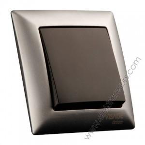 рамка Visage Deluxe 1 матиран хром