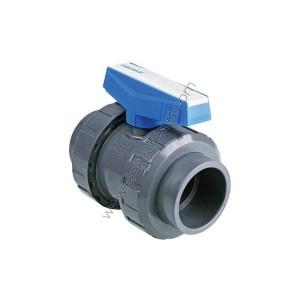 PVC Кран Ф40 Напорен За вода Син