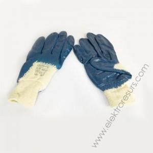 ръкавици сини промазани