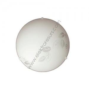 плафониера Арт Листа ф250 бял