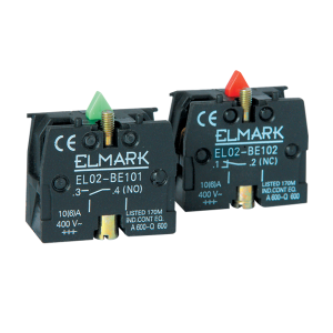 Помощен контакт EL02BE102 1NС