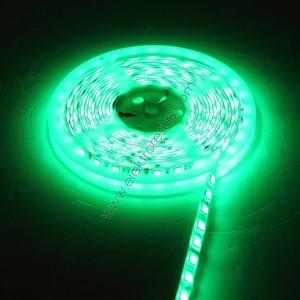 LED Лента 5050 IP20 Зелена 9.6W