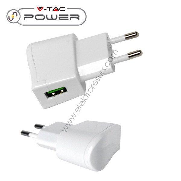 адаптер USB блистер/бял 8791